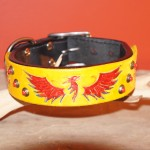 Paco Leather Collar