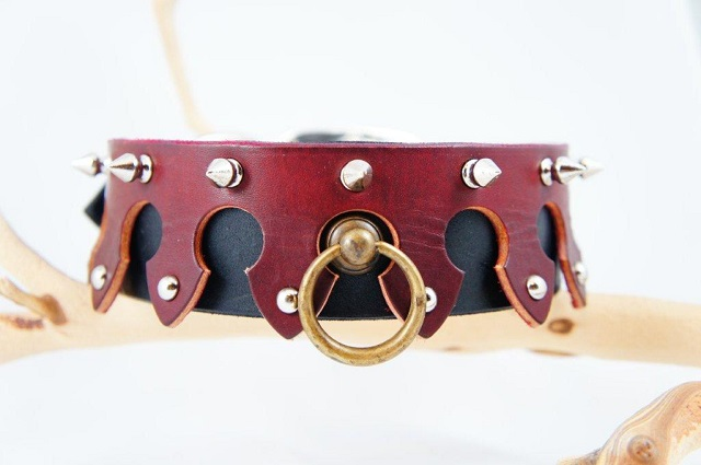 Medieval Leather Collar